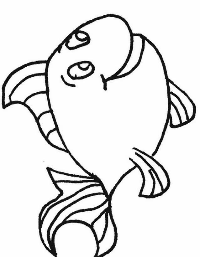 Pesce da colorare 126