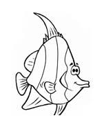 Pesce da colorare 129