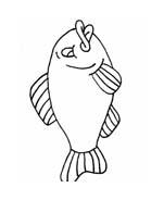 Pesce da colorare 136