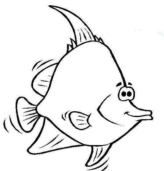 Pesce da colorare 140