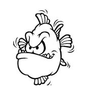 Pesce da colorare 141
