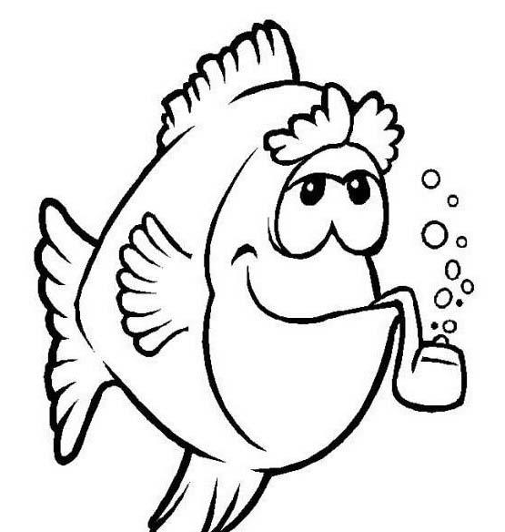 Pesce da colorare 142