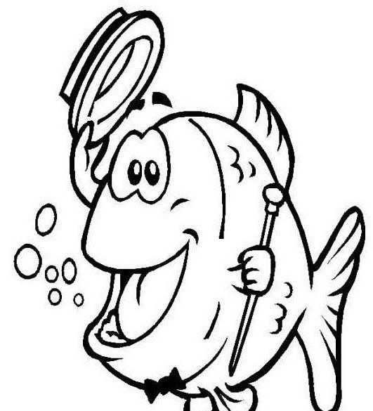 Pesce da colorare 143