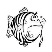 Pesce da colorare 145