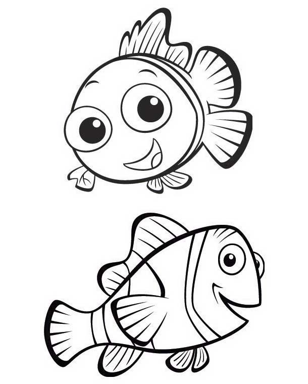 Pesce da colorare 148
