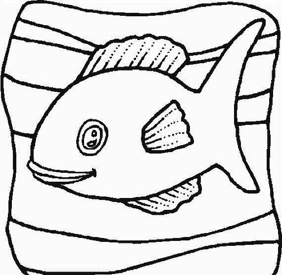 Pesce da colorare 152