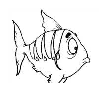 Pesce da colorare 160