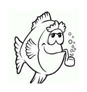 Pesce da colorare 163