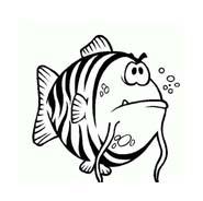 Pesce da colorare 166