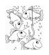 Pesce da colorare 167