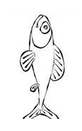 Pesce da colorare 169