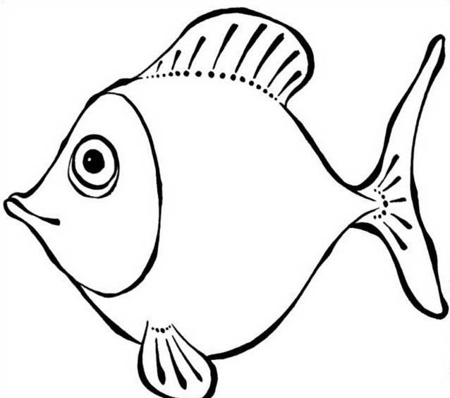 Pesce da colorare 170