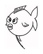 Pesce da colorare 171