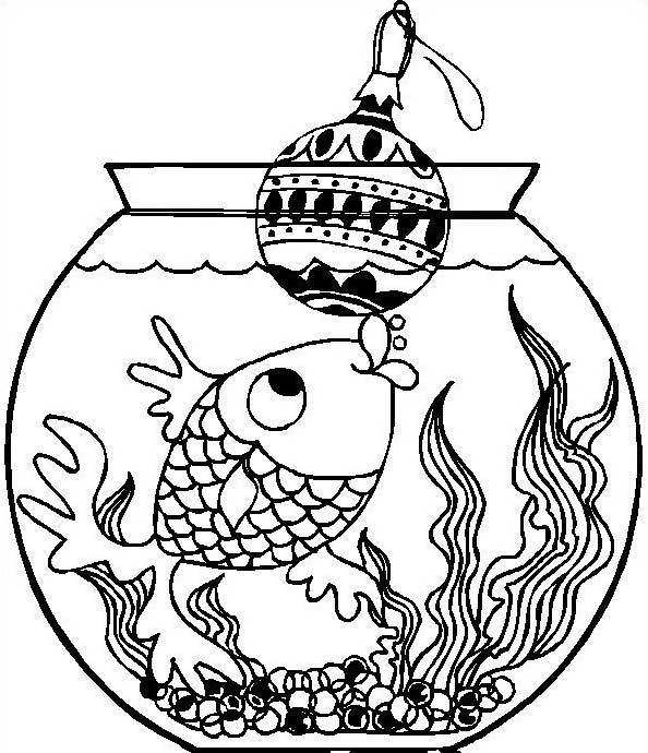 Pesce da colorare 176