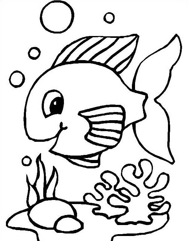 Pesce da colorare 177