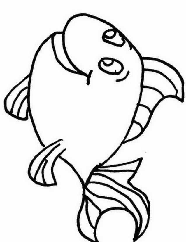 Pesce da colorare 178
