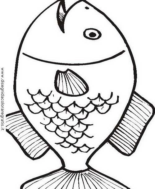 Pesce da colorare 192