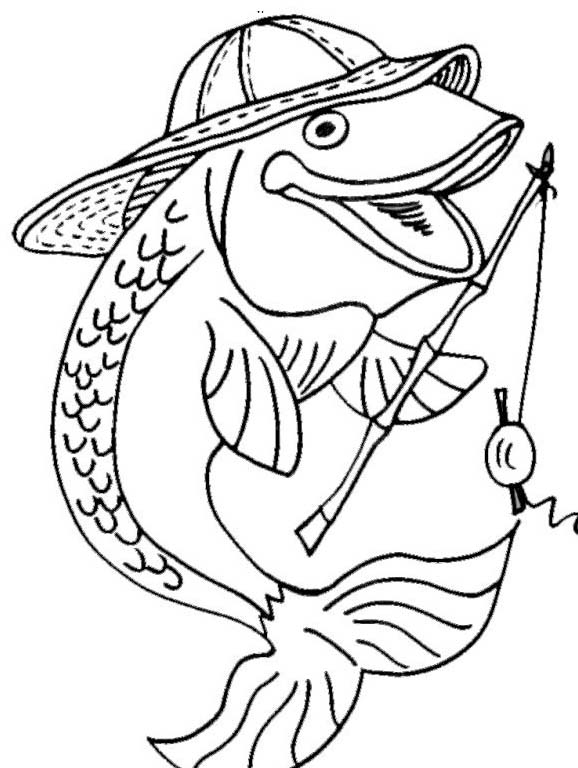 Pesce da colorare 198