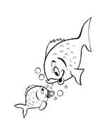 Pesce da colorare 199