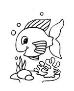 Pesce da colorare 200