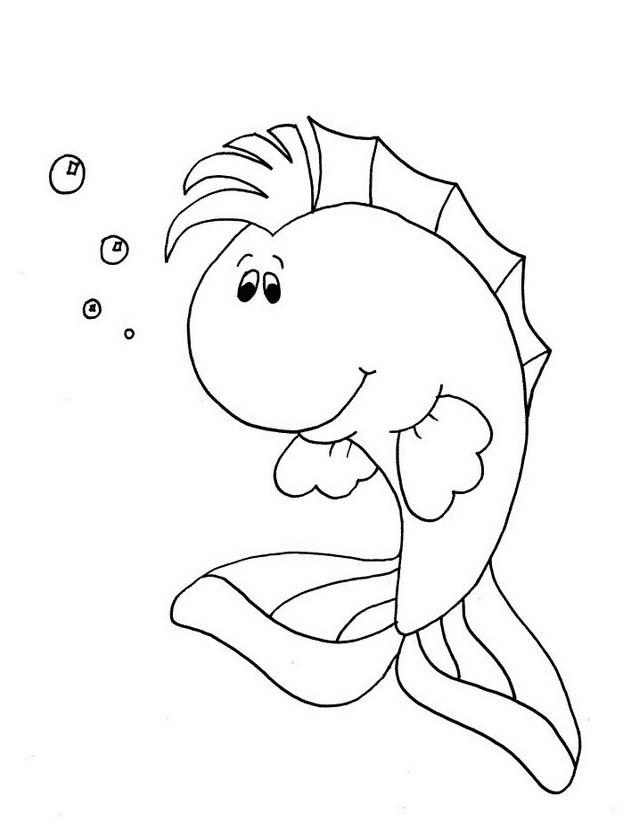 Pesce da colorare 201