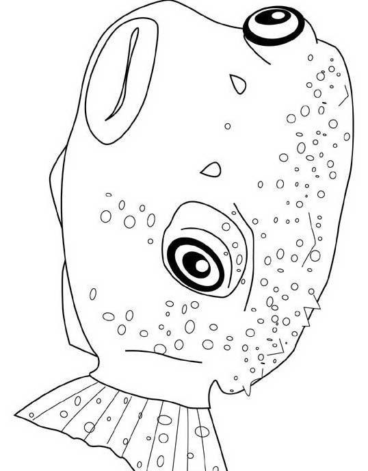 Pesce da colorare 205