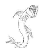 Pesce da colorare 226
