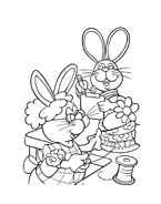 Peter cottontail da colorare 4