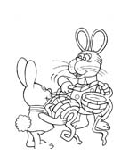 Peter cottontail da colorare 6