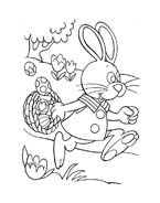 Peter cottontail da colorare 7
