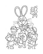 Peter cottontail da colorare 10