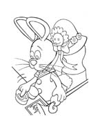 Peter cottontail da colorare 37