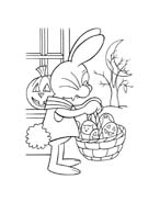 Peter cottontail da colorare 95