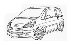 Automobile da colorare 366