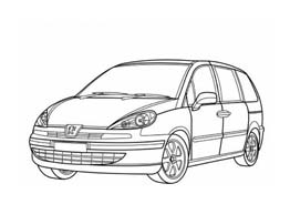 Automobile da colorare 368