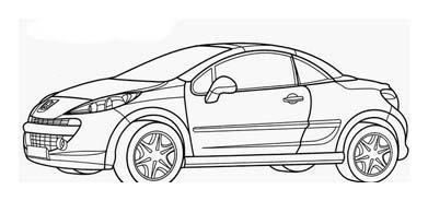 Automobile da colorare 369