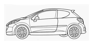 Automobile da colorare 370