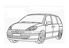 Automobile da colorare 376