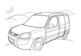 Automobile da colorare 378