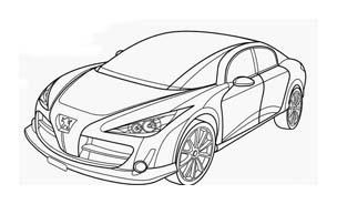 Automobile da colorare 379