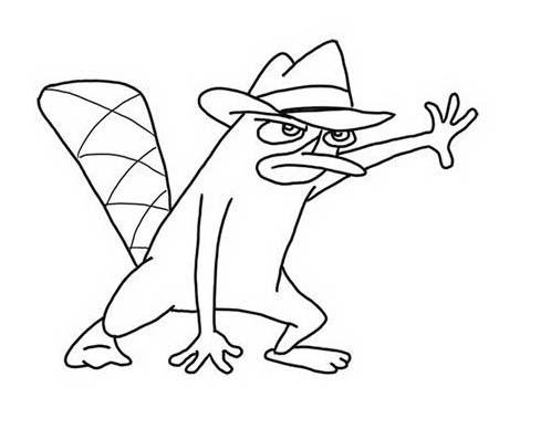 Phineas ferb da colorare 5