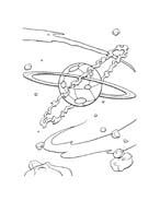 il pianeta del tesoro da colorare 124