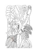 Albero da colorare 107