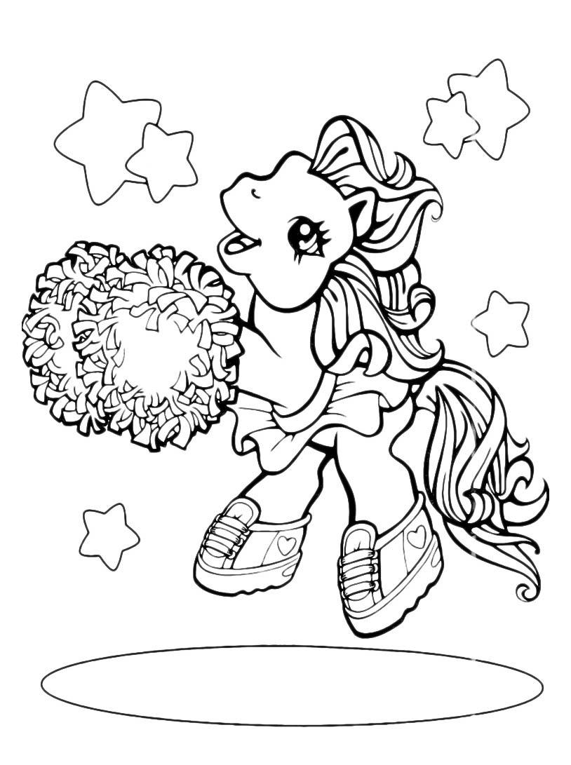 Little pony da colorare 48