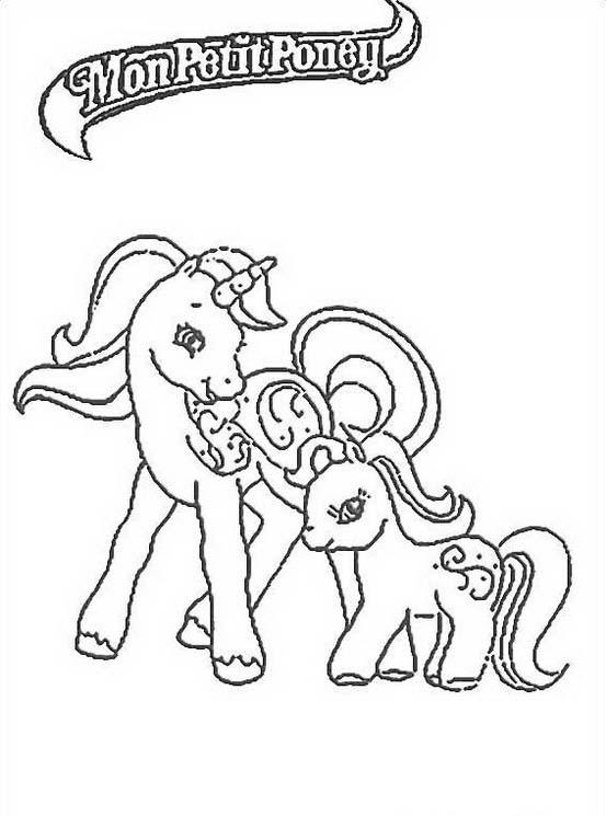 Little pony da colorare 88