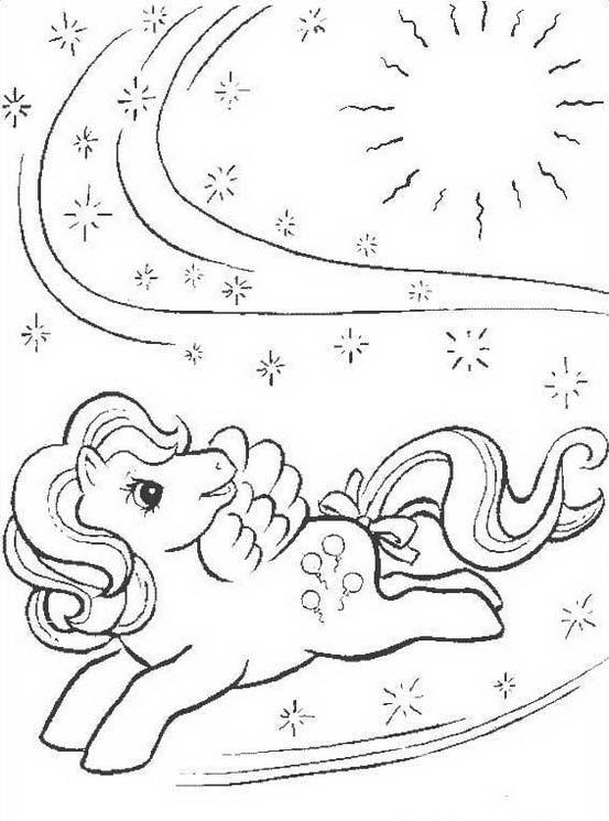 Little pony da colorare 95