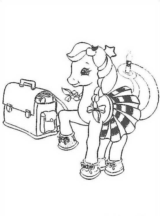 Little pony da colorare 110