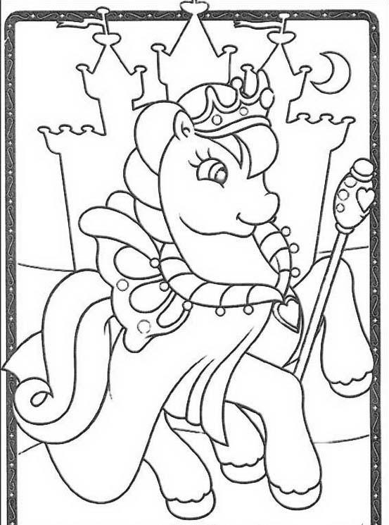 Little pony da colorare 111