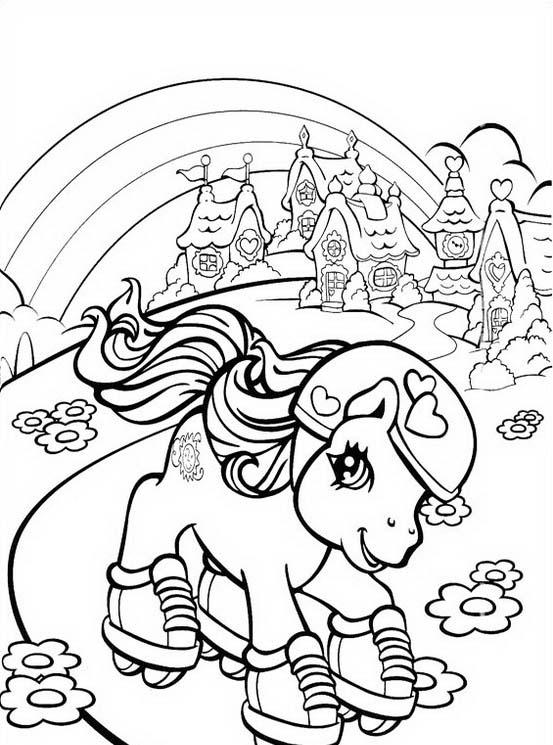Little pony da colorare 114