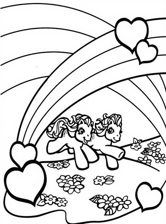 Little pony da colorare 125